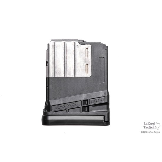 Image of Lancer L7 Advanced Warfighter Magazine, 10 Round, Black for 7.62mmX51