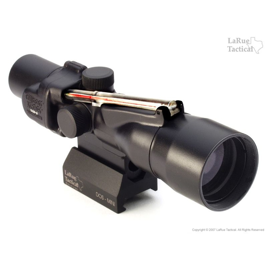 Image of Trijicon TA33 3x30 Trijicon ACOG with LaRue Tactical LT105 Compact ACOG QD Mount