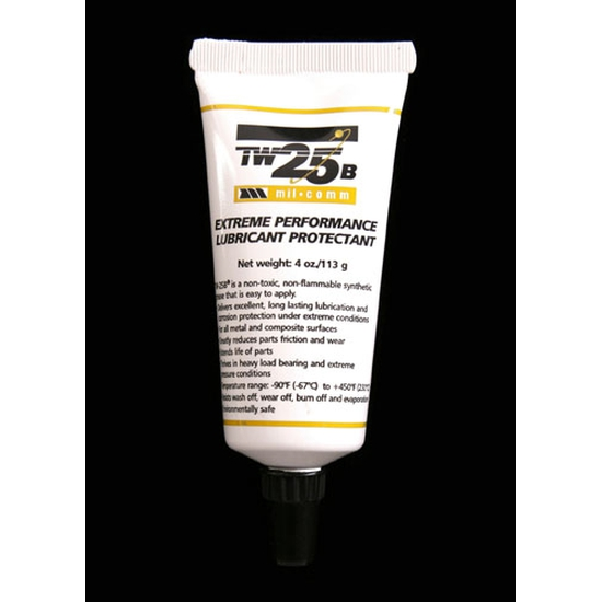 Image of Lube/ Mil-Comm Extreme Performance Synthetic Grease, Lubricant Protectant TW25B, 4 oz tube