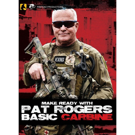 Image of DVD/ Make Ready With Pat Rogers: Basic Carbine