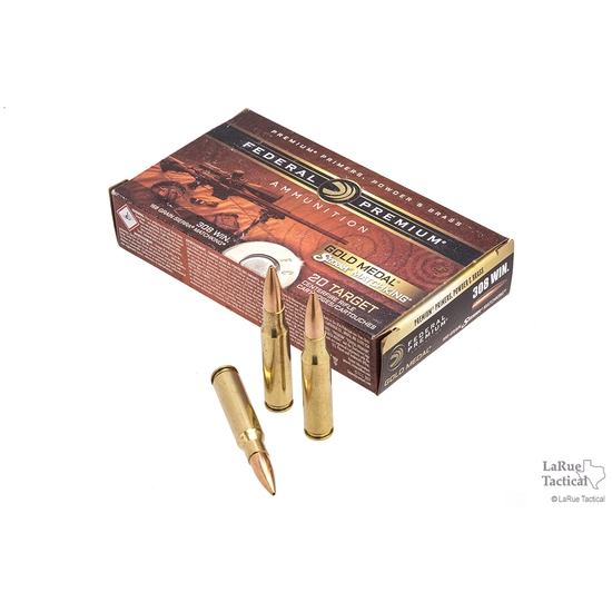 Image of Federal Premium GMM .308 168 Gr. SMK
