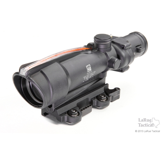 Image of Trijicon ACOG TA11H 3.5x35 Scope, Red Horseshoe .223 Ballistic Reticle w/ LT100 QD Mount