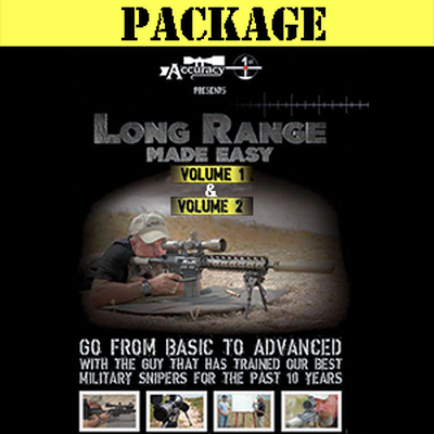 Image 1 of Accuracy 1st - Long Range Made Easy Volume 1 & 2 Combo - DVD