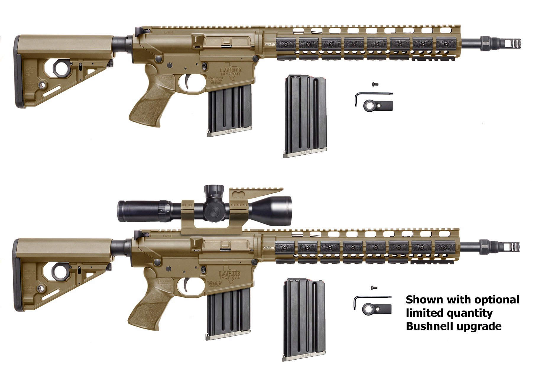 Limited Edition Fde 7 62 Heavy Barreled Predatar Rifle